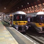 Photo taken at Heathrow Express Train - Paddington [PAD] to Heathrow [HXX] by Rami on 5/23/2012