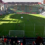 Photo taken at Stadio Nereo Rocco by Andrea B. on 4/28/2012
