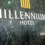 Photo taken at Millennium Hotel by Joey Z. on 4/3/2012
