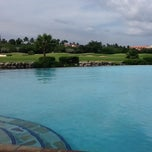 Photo taken at Infinity Pool by KIM A. on 11/10/2011