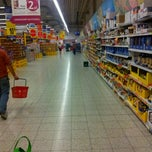 Photo taken at Tesco Hipermarket by Pawel L. on 9/21/2011