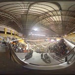Photo taken at UST Quadricentennial Pavilion by Earl Louis on 2/23/2012
