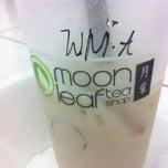 Photo taken at Moonleaf Tea Shop by John Carl G. on 7/22/2011