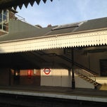 Photo taken at Boston Manor London Underground Station by Jon B. on 8/11/2012