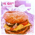 Photo taken at Five Guys by sketch c. on 2/8/2012