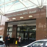 Photo taken at Sheraton São Paulo WTC Hotel by Gabriel R. on 6/1/2012