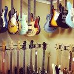 Photo taken at Austin Vintage Guitars by Megan Nicolle N. on 7/16/2012