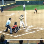Photo taken at Shirley Clements Mewborn Field by Shannon L. on 3/14/2012