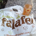 Photo taken at I Dream of Falafel by Marina V. on 3/15/2012