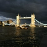 Photo taken at London Bridge City Pier by mishary a. on 5/3/2012