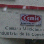 Photo taken at Camara Mexicana de la Industria de la Construcción by Rulo R. on 7/6/2012