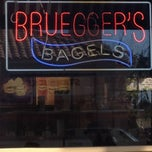 Photo taken at Bruegger's Bagel by Mike B. on 4/15/2012