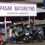 Photo taken at Pasar Baturetno 1 by Taufik H. on 12/14/2011