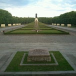 Photo taken at Treptower Park by Sergey P. on 6/10/2012