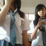 Photo taken at Sekolah Santo Paulus Jakarta by Hendry D. on 4/18/2012