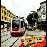 Photo taken at MUNI Metro Stop - Carl & Cole by Rosemarie M. on 8/20/2012