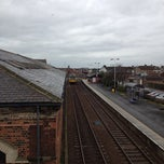 Photo taken at Redcar Central Railway Station (RCC) by Ash G. on 2/20/2012