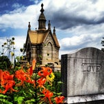 Photo taken at Oakland Cemetery by Chad E. on 6/17/2012