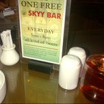 Photo taken at Skyy Bar by Devi on 7/18/2012