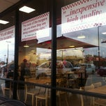 Photo taken at Five Guys by Steven E. on 12/4/2011