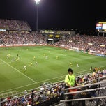 Photo taken at Columbus Crew Stadium by Cameron S. on 9/12/2012