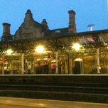 Photo taken at Dewsbury Railway Station (DEW) by Giles W. on 5/12/2012