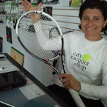 Photo taken at City Racquet Shop by Kevin W. on 5/2/2012