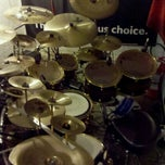 Photo taken at Drum Groove School Di Andrea Pollastri by Andrew P. on 11/23/2011