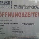 Photo taken at Truck Center Katzinger by Günter H. on 10/13/2011