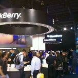 Photo taken at BlackBerry #CES Booth 30326 by @24K on 1/11/2012