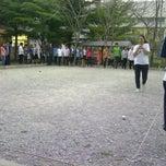 Photo taken at สนามเปตอง by ลิงน้อย แ. on 12/24/2011