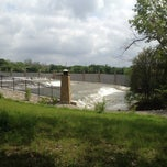 Photo taken at White Rock Lake Spillway by Mia on 3/30/2012