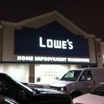 Photo taken at Lowe's Home Improvement by Jeff B. on 1/14/2011