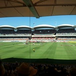 Photo taken at Adelaide Oval by Chris M. on 1/25/2012