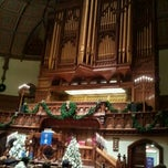 Photo taken at Fifth Avenue Presbyterian Church by Paula S. on 12/25/2011