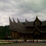 Photo taken at Istano Basa Pagaruyung by Ade Putri P. on 10/30/2011