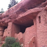 Photo taken at Manitou Cliff Dwellings by Ryan M. on 9/7/2011
