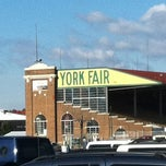 Photo taken at York Fairgrounds & Expo Center by Andrew on 4/16/2011