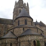 Photo taken at Basilique Notre-Dame d'Avesnières by Annemiek on 7/20/2012