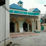 Photo taken at Masjid Assalam SAMSAT by Rico Disini Untukmu on 9/23/2011