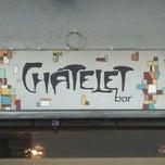 Das Foto wurde bei Chatelet Bar von Ana R. am 7/21/2012 aufgenommen