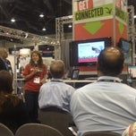 Photo taken at ICSC RECon #iTechLounge by Leslie C. on 5/20/2012