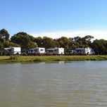 Photo taken at Lake Albert Caravan Park by Nicholas T. on 2/21/2012