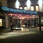Photo taken at Sheraton Munich Westpark Hotel by Conny G. on 12/2/2011