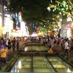 Photo taken at 北京路步行街 Beijing Road by Lau T. on 6/2/2012