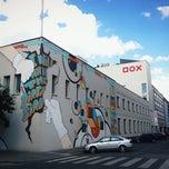 Photo taken at DOX Centrum současného umění by Florian F. on 6/23/2012