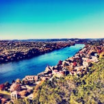 Photo taken at Covert Park at Mt. Bonnell by Mike Z. on 11/23/2011