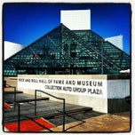 Photo taken at The Rock and Roll Hall of Fame and Museum by Jeremy S. on 6/28/2012