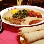 Photo taken at Meskerem Ethiopian Restaurant by Olivier d. on 5/15/2012