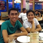 Photo taken at Shakey's Dau by Francis K. on 7/7/2011
